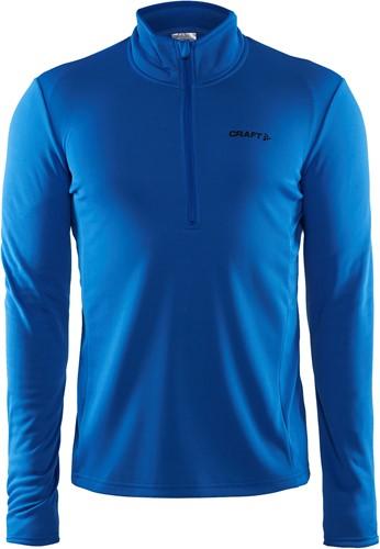 Craft Halfzip Sweater-XXL-Swed. Blauw