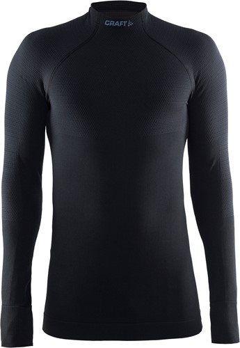 Craft Thermo Shirt-Zwart-XS