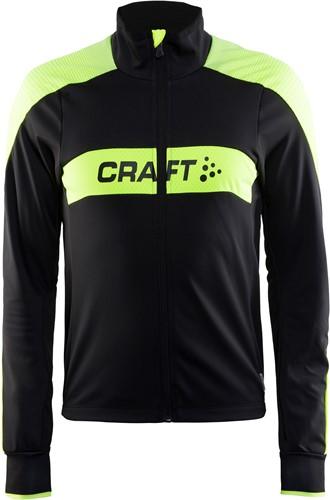 Craft Gran Fondo Jas-XS-Zwart/Geel
