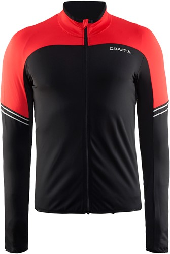 Craft Velo Thermo Jersey Jas-Rood-XS