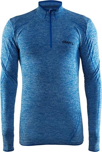Craft Active Comfort Zip Sweater-S-Swed. Blauw