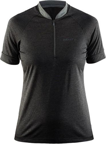 Craft Pulse Jersey T-Shirt-Donker grijs-XS