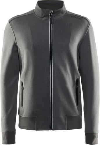 Craft Noble Zip Vest-S-Donker grijs