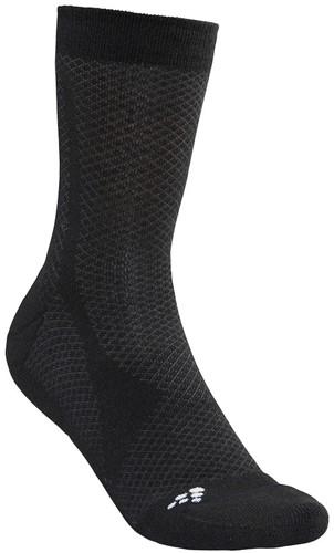 Craft Warm Mid Sokken-Blauw-34/36