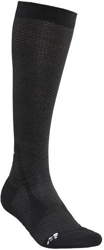 Craft Warm Mid Sokken-Zwart-34/36