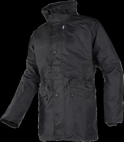 Sioen Adelans 3 in 1 regenjas met uitneembare Fleece Jas-Zwart-S