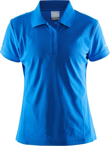 Craft Pique Classic Polo-XS-Swed. Blauw