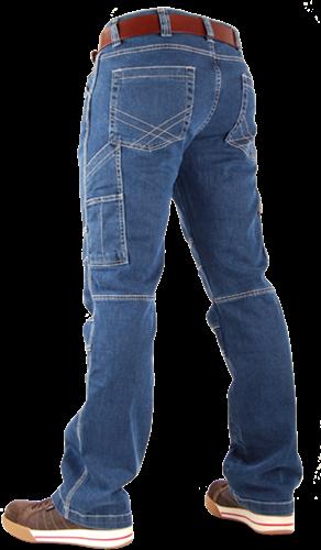 CrossHatch Spijkerbroek Toolbox-Stretch-28-34