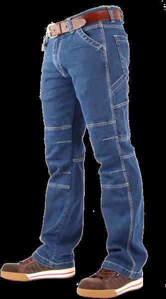 Crosshatch Spijkerbroek Toolbox Stretch