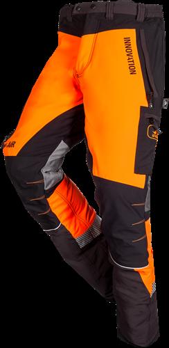 SIP Zaagbroek Grijs/Oranje 1SBC-013-XS Kort