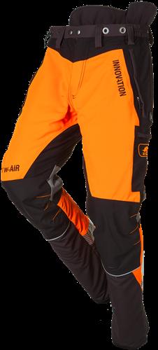 SIP Zaagbroek Grijs/Oranje 1SBW-013-XS Kort
