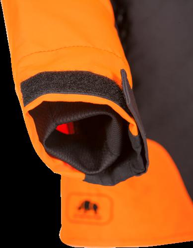 SIP Werkjas 1SMW-013 Grijs/Oranje-S-2