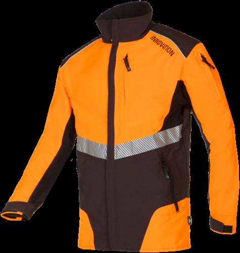 SIP Werkjas 1SMW-013 Grijs/Oranje-S