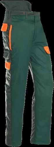 SIP Zaagbroek 1SP7-526-S-Groen / Fluo Oranje