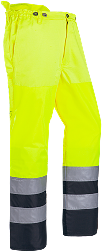 SIP Bosmaaibroek HV 1SQ5-387-XS-Fluo Geel/Zwart