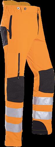 SIP Klimbroek Hi-Vis 1SSH-183-S-Fluo Oranje/Zwart