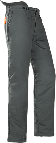 SIP Zaagbroek 1XTP-506-Groen/Hi-Vis Oranje-XS