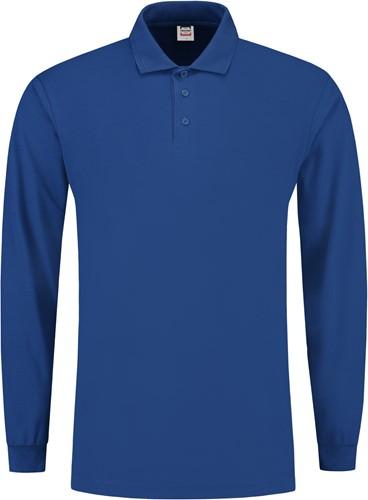 Tricorp PPL180 Poloshirt Lange Mouw -XS-Royaal Blauw