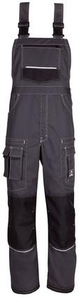 Havep Titan Amerikaanse overall/Bretelbroek-H46-Charcoal grey/zwart