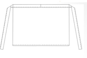 Basic sloof zonder split
