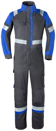 Havep 5safety Image Overall-H46-Charcoal/korenblauw