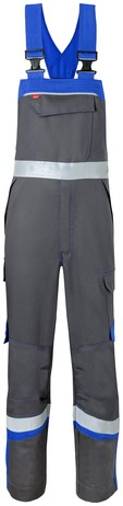 Havep 5safety Image Amerikaanse overall/Bretelbroek-H46-Charcoal/korenblauw