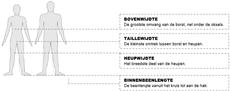 HLM Werkkleding Maattabel-44