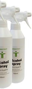 ATV Safety Desinfectie Sprayflacon - per 12 stuks