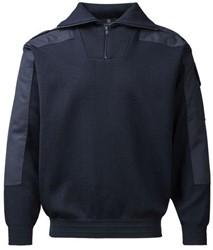 Clipper Corporate Heren nato trui, ritssluiting - 111 | Marineblauw
