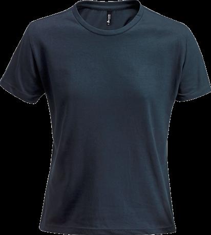 Acode Dames t-shirt van zware kwaliteit-S-Donker marineblauw
