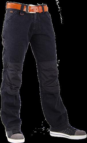 CrossHatch Spijkerbroek Toolbox-BC - Zwart-32-34