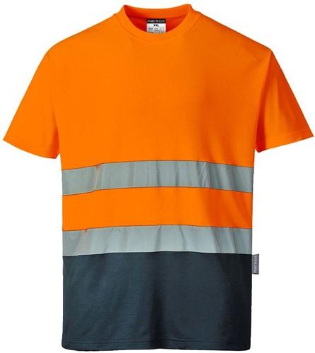 Portwest S173 2-Tone Cotton Comfort T-Shirt