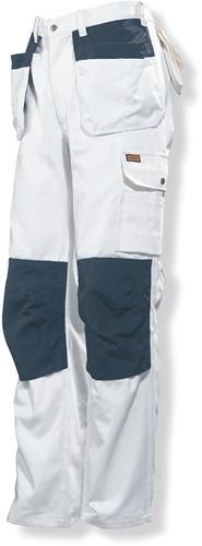 Jobman 2159 Werkbroek HP wit Line-C146-Wit/zwart