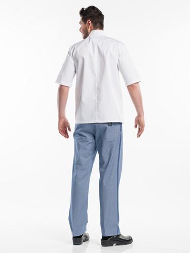 Chaud Devant Hilton Poco White Short Sleeve Koksbuis-2