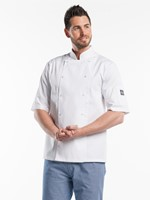 Chaud Devant Hilton Poco White Short Sleeve Koksbuis-1