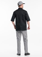 Chaud Devant Hilton Poco Black Short Sleeve Koksbuis-2