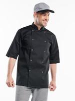 Chaud Devant Hilton Poco Black Short Sleeve Koksbuis-1