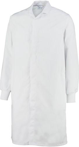 Orcon Gent Food Medium Care lange jas met manchetten - Wit