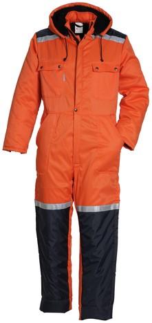 Havep Basic Overall-H46-Oranje/marine