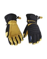 Blaklader 22383922 Gevoerde Handschoen Ambacht Zwart/Geel