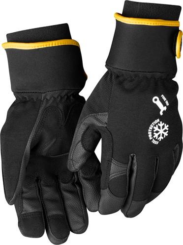 Blaklader 22473944 Gevoerde handschoen Mekaniekers Zwart/Grijs