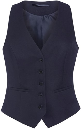 Brook Taverner - One Collection Luna Waistcoat - Navy - XS