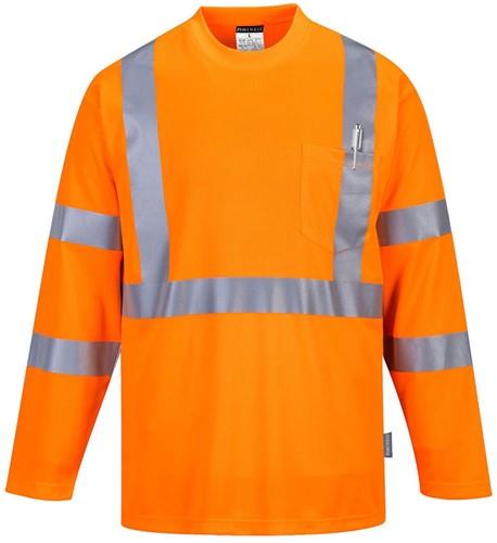 Portwest S191 Hi-Vis Long Sleeved T-Shirt