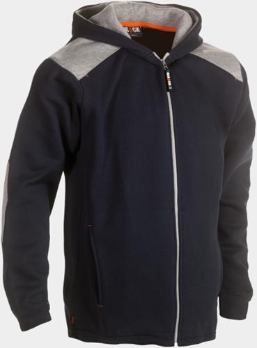 SALE! Herock 22MSW1301 Juno Sweater Met Kap - Navy - Maat XL