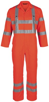 Havep High Visibility Overall RWS-Fluo Oranje-H46