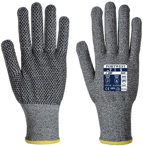 Portwest A640 Sabre-Dot Glove - PVC