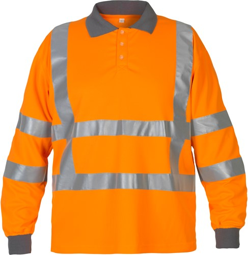 Hydrowear Ter Apel polo - Oranje-S