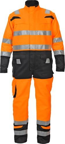 Hydrowear Missouri coverall - Oranje/zwart-S