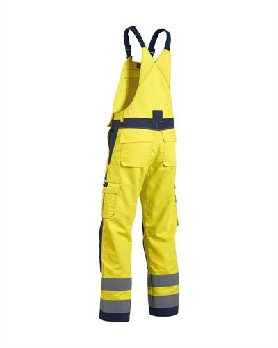 Blaklader 26081506 Multinorm Bretelbroek Geel/Navy