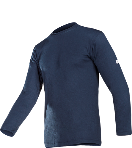 Sioen Trapani Thermoshirt-Blauw-XS